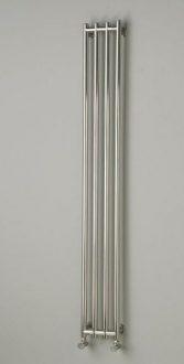 Schmaler Heizkörper, Edelstahlheizkörper V4A Typ INIKU Standard.