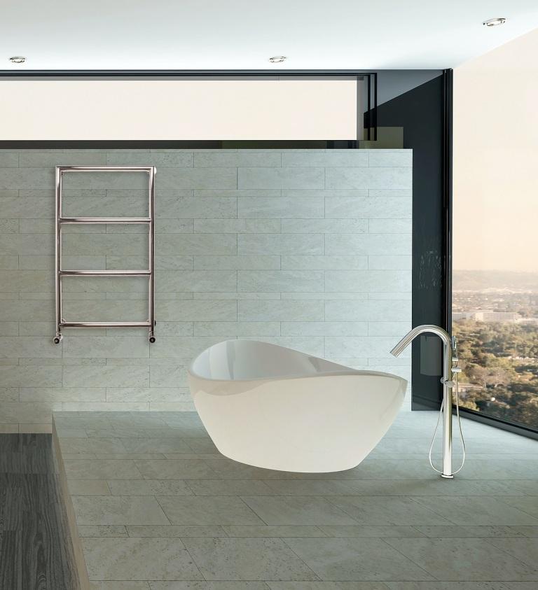 Handtuchheizk rper edelstahl handtuchtrockner in top for Design handtuchheizkorper