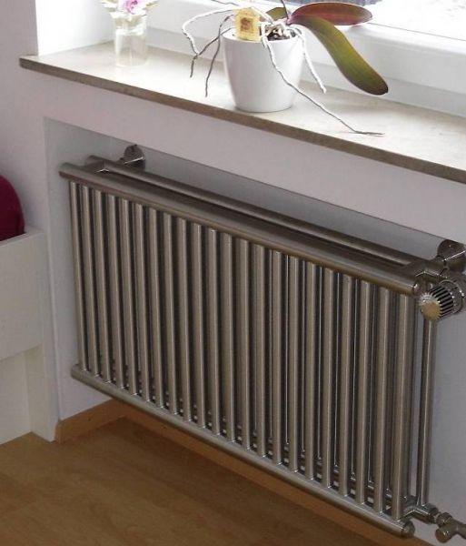 heizkÖrper bodenmontage | edelstahl. für besondere wohnräume - Moderne Heizkorper Wohnzimmer