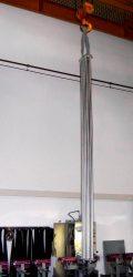 Edelstahlheizkörper schmal, nach Sondermaß gefertigt, in XXL 119
