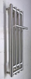 heizkörper für gäste wc mit handtuchhalter, typ iniku